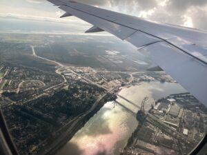 バンクーバー国際空港付近